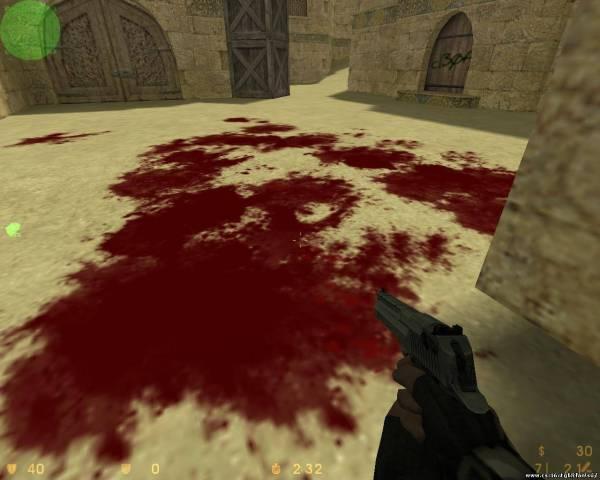 Как в кс сделать кровь